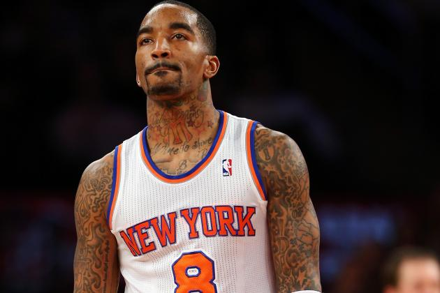 Knicks Staff Fed Up with J.R. Smith's Antics