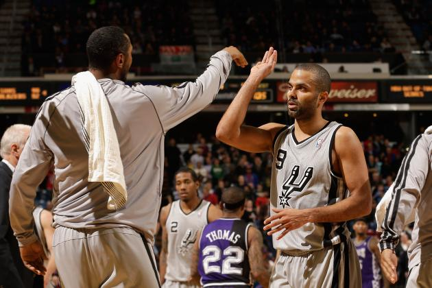 Tony Parker Wants a 50-40-80 Season: Can He Reach It in 2012-13?