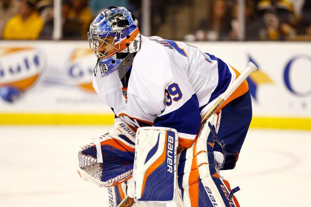 Report: Isles to Place DiPietro on Waivers at Noon