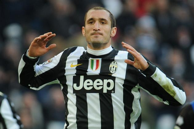 Chiellini Set for Juventus Return Against Lowly Siena