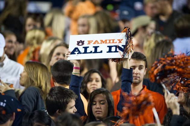 Auburn Announces Season-Ticket Prices Will Stay the Same in 2013
