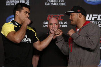 UFC 157 Press Conference Video
