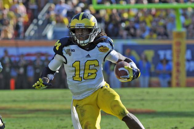 Mayhew Says Denard Robinson Is 'Ultimate Hybrid Swiss-Army Knife'