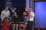 2-Year-Old Baby B-Ball Prodigy Dominates Kimmel