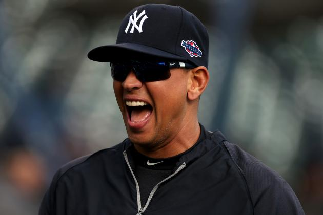 A-Rod Focusing '100 Percent' on Rehab, Wants to 'Be a Part' of Yankees