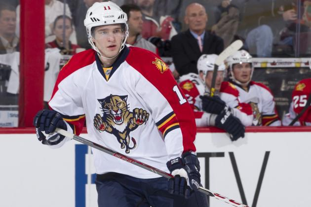 NHL Awards Race 2013: Why Panthers' Jonathan Huberdeau Is Calder Trophy Leader