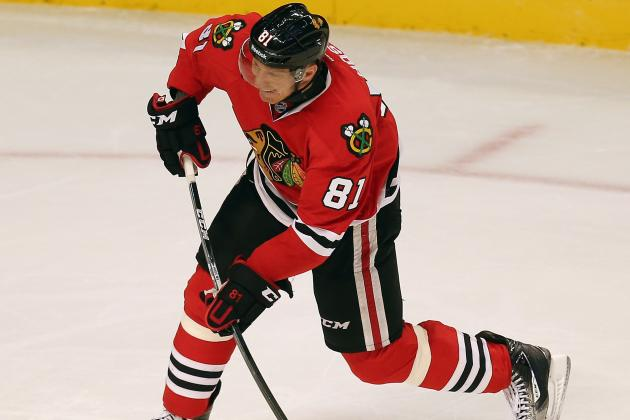 Hawks' Hossa, Carcillo Return to Face Sharks