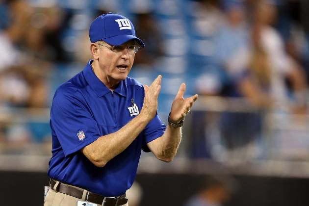 Giants' Coughlin Shoots Down Retirement Questions