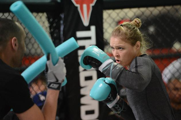 Rousey vs. Carmouche: How to Watch Historic UFC Bout