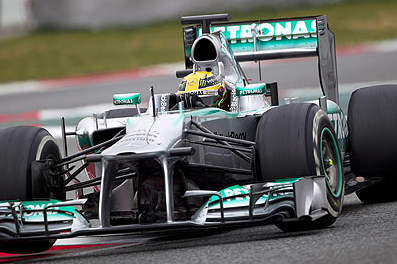 Lewis Hamilton Says Mercedes Are Not Ready to Challenge for F1 Title