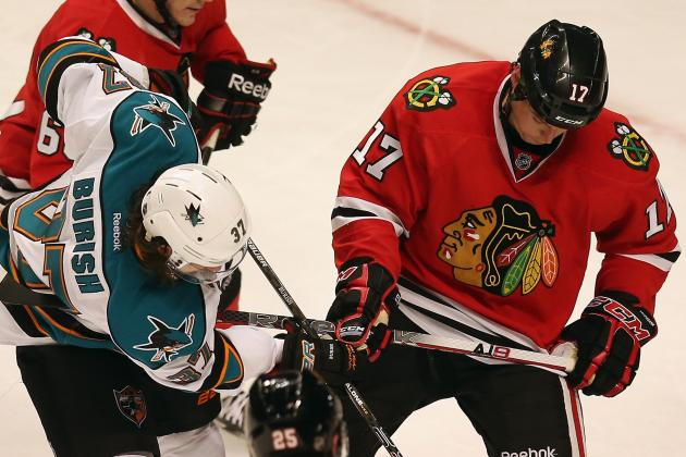 Sharks at Blackhawks