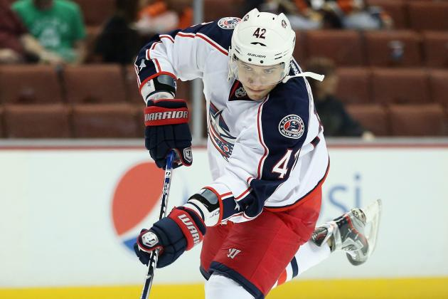 Jackets' Anisimov Released from Hospital, Listed as Day-to-Day
