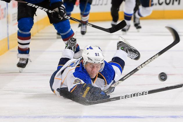 Tarasenko Placed on Injured Reserve