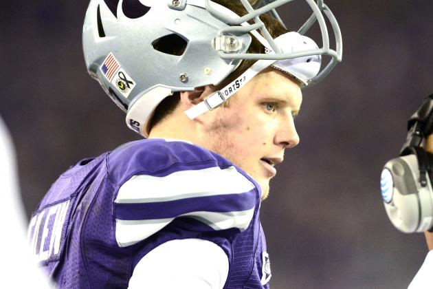 Collin Klein Asked to Work Out with Tight Ends at NFL Combine