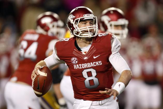 Arkansas QB Meets with Bills Again