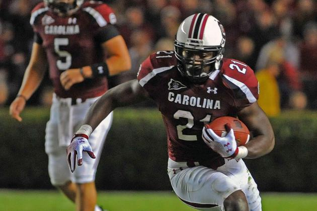 Marcus Lattimore Has Met with Patriots
