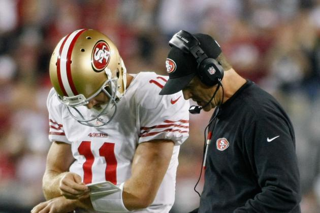 Jim Harbaugh: 49ers 'Unlikely' to Release Alex Smith