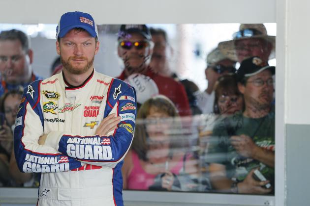 Dale Earnhardt Jr's Practice Struggles a Bad Omen for Daytona 500