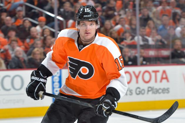 Rookie McGinn Happy to Re-Enter Flyers Lineup