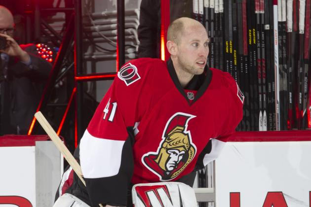 Craig Anderson to Miss at Least 3-4 Games with Sprained Ankle