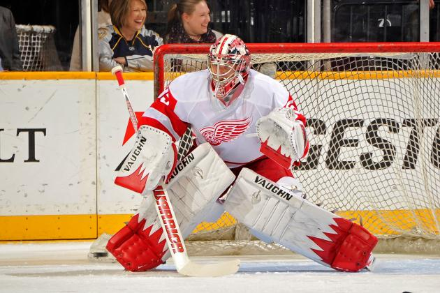 Red Wings' Howard Cleared After Blurry Vision Scare