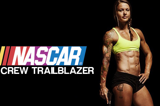 Christmas Abbott: NASCAR's First Female Pit Crew Member