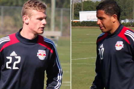 Red Bulls Sign Rookie Midfielders Michael Bustamante and Ian Christianson