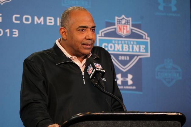 NFL Scouting Combine: Bengals' Marvin Lewis Evaluating Offensive Tackles