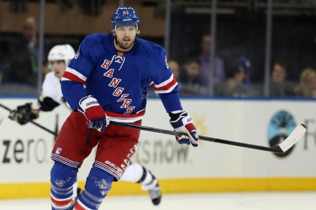 NHL Injury Report: Latest Updates on Rick Nash, Marian Hossa and Other Top Stars