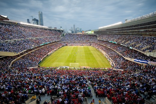 Chicago's Soldier Field to Host 2013 CONCACAF Gold Cup Final