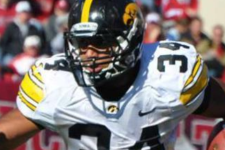 Iowa FB Brad Rogers, LB Jim Poggi End Football Careers Due to Injuries