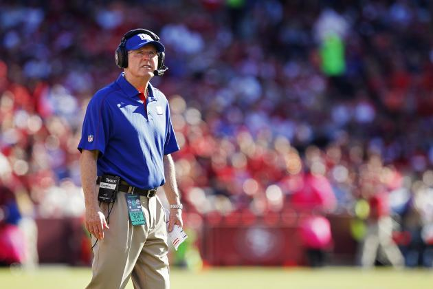 New York Giants: Tom Coughlin Not Thinking Retirement, Will Go Year to Year