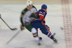 Edmonton's Hall Suspended Two Games for Kneeing Clutterbuck