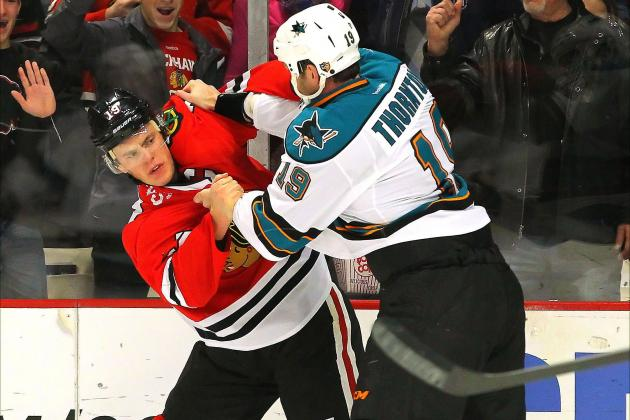 Chicago Blackhawks Break NHL Record with 2-1 Victory vs. San Jose Sharks