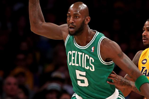 Kevin Garnett (Rest) out for 1st Time This Season