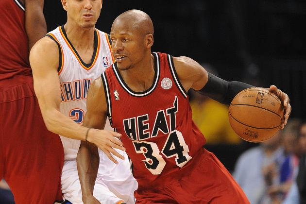 Ray Allen Getting More Comfortable with His Role