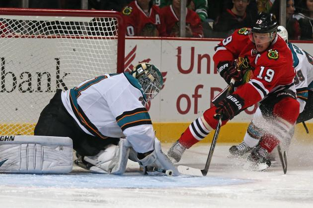ESPN Gamecast: Sharks vs. Blackhawks