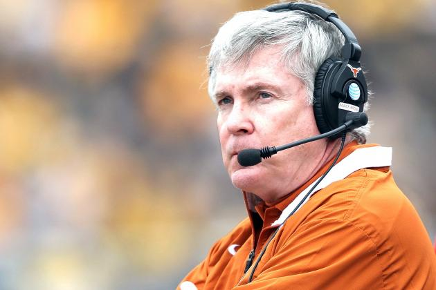 Texas Going with Uptempo Offense Is Mack Brown's Last Stand