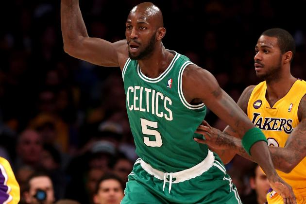 Celtics Sit Kevin Garnett Friday Night Against Suns