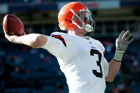 Cleveland Browns' Rob Chudzinski Is Excited to Work with Brandon Weeden