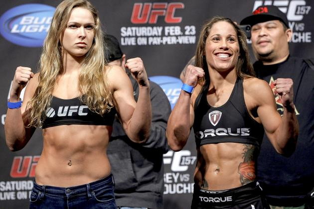 UFC 157 Weigh-In Results for Ronda Rousey vs. Liz Carmouche Fight Card