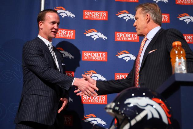 Elway Gives Peyton an A+ for 2012