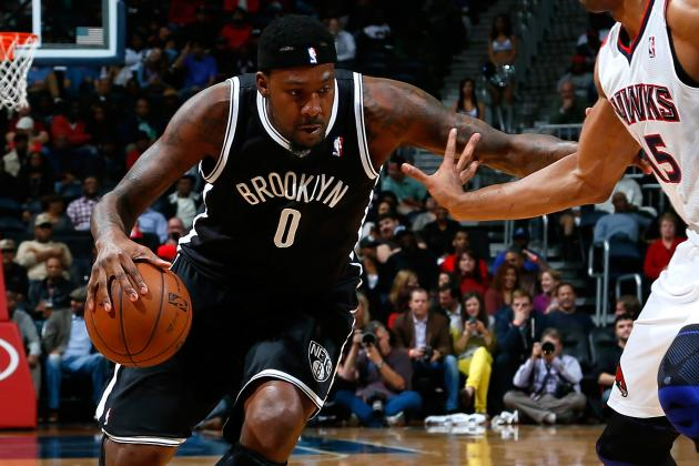 Video: Andray Blatche Crosses Up, Posterizes Donatas Motiejunas