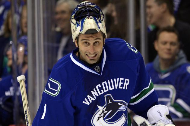 Luongo Stops 23 Shots as Canucks Blank Preds