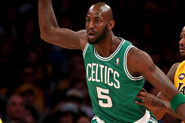 Kevin Garnett Sits Against Phoenix, Misses His First Game of the Season