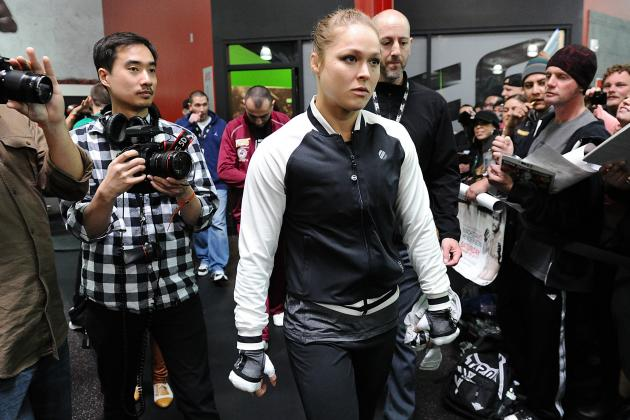 UFC 157: Liz Carmouche Has No Chance Against Ronda Rousey