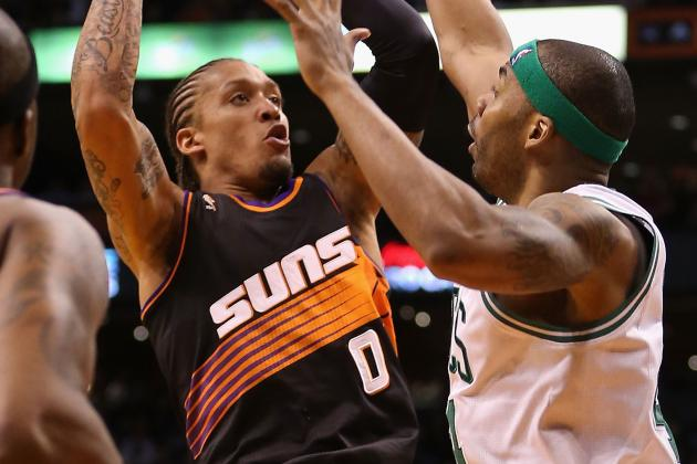 No KG No Problem: Green Stars, Celtics Ease Past Suns 113-88