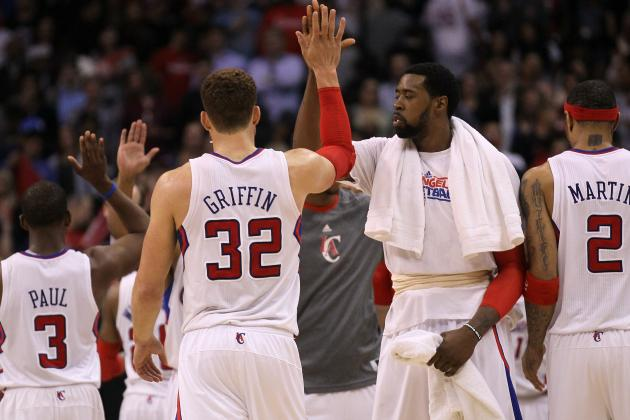 VIDEO: Clippers' Blake Griffin and DeAndre Jordan Can't Hit High-Five