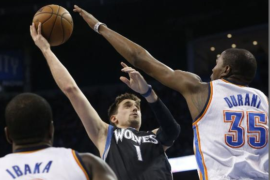 Wolves Clobbered by Thunder's Star Power