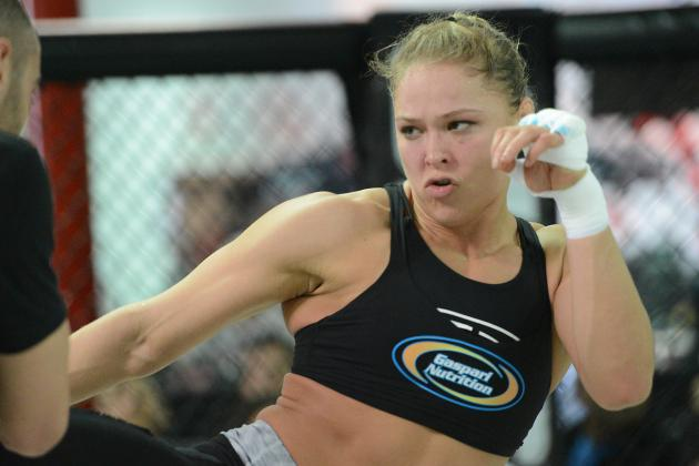 Ronda Rousey vs. Liz Carmouche Video Highlights from the UFC 157 Weigh-Ins